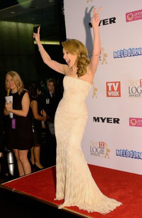 Кайли Миноуг на церемонии 2014 Logie Awards