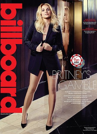 Бритни Спирс в Billboard Magazine