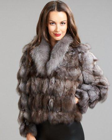Extra Large Silver Fox Tail  amazoncom